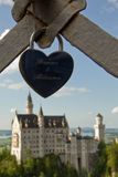 Castle in Füssen Stock Images