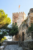Castle in Fuengirola, Costa Del Sol, Spain Royalty Free Stock Photography