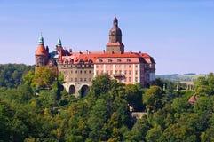 Castle Fuerstenstein στη Σιλεσία Στοκ Εικόνα