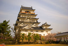 Castle, Fukuyama, Japan Royalty Free Stock Photo