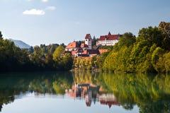 Castle in Fussen, Bavaria Stock Photos