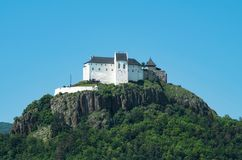 Castle Fuzer on hilltop in eastern Hungary Stock Photo