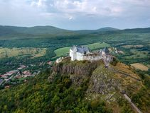 Castle of Fuzer in Hungary in Europe. Castle of Fuzer in Hungary, Europe stock images