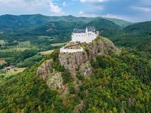 Castle of Fuzer in Hungary in Europe. Castle of Fuzer in Hungary, Europe royalty free stock image