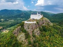 Castle of Fuzer in Hungary in Europe. Castle of Fuzer in Hungary, Europe stock image