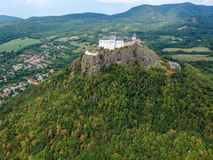 Castle of Fuzer in Hungary in Europe. Castle of Fuzer in Hungary, Europe stock photos