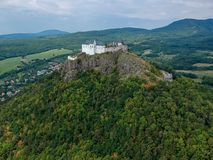 Castle of Fuzer in Hungary in Europe. Castle of Fuzer in Hungary, Europe stock photography