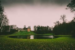 Castle Gaasbeek Lennik royalty free stock image