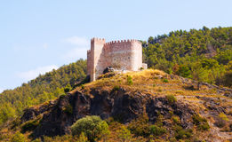 Castle in Gaibiel.  Valencian Community Stock Photos