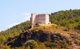 Castle in Gaibiel.  Valencian Community Stock Photos