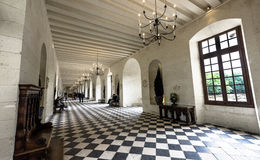 In the castle gallery royalty free stock photos