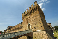 Castle of Galliate Stock Photography