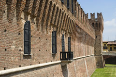 Castle of Galliate (Novara, Italy) Stock Photography
