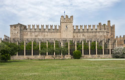 Castle at Garda near Sirmione Stock Photo