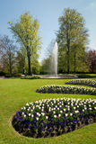 Castle garden Stock Photo