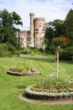 Castle garden Stock Photos