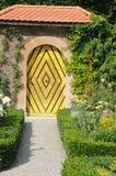 Castle Garden Doorway. Simple and yet very beautiful garden passage at the Heidegg castle in Switzerland Royalty Free Stock Image