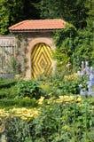 Castle Garden Doorway. Simple and yet very beautiful garden passage at the Heidegg castle in Switzerland Royalty Free Stock Images