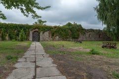 Castle garden. In Dubno, Ukraine Royalty Free Stock Photo