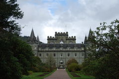 Castle and Garden at Inverary Stock Image