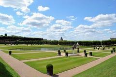 Castle garden Villandry Stock Image