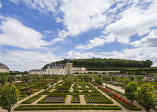 Castle gardens Stock Photo