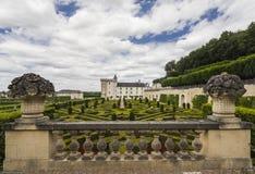 Castle gardens Stock Photography