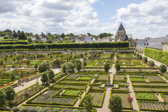 Castle gardens Royalty Free Stock Images
