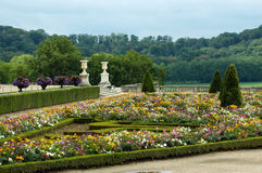 The castle gardens of Versailles Royalty Free Stock Images