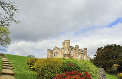 Castle and gardens Stock Photography
