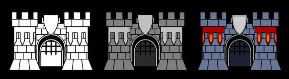 Castle Gate Royalty Free Stock Image