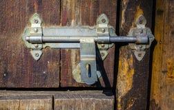 the lock on the door Stock Photos