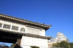 Castle gate of Himeji castle in Himeji Stock Image