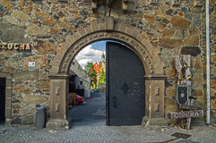 Castle gate. Royalty Free Stock Photos