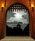 Castle gate Royalty Free Stock Images