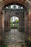 Castle Gates Royalty Free Stock Photography