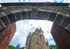Castle gates Stock Photography