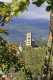 Castle Geiersberg. In the township of Friesach in Carinthia, Austria Stock Photo