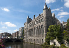 Castle in Gent Stock Photography