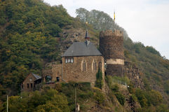 A Castle in Germany. A medieval Castle in West Germany Stock Image