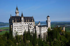 Castle in Germany. Standing proud in the forest Royalty Free Stock Photography