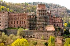 Castle in Germany. Castle in Heidelberg, Germany,Baden-Wurttemberg Stock Images