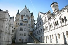Castle in Germany Royalty Free Stock Photography
