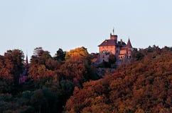 Castle - Germany - Autumn Colors Stock Image