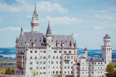 Castle germany bavaria alps Royalty Free Stock Image