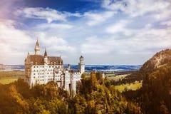 Castle germany bavaria alps Stock Photography