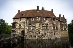 Castle in Germany. Burg Vischering is a water castle in Münsterland, Germany Stock Photo