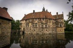 Castle in Germany. Burg Vischering is a water castle in Münsterland, Germany Stock Image