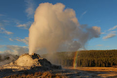 Castle Geyser Stock Photos