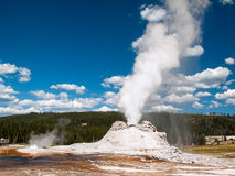 Erupting Castle Geyser Royalty Free Stock Images